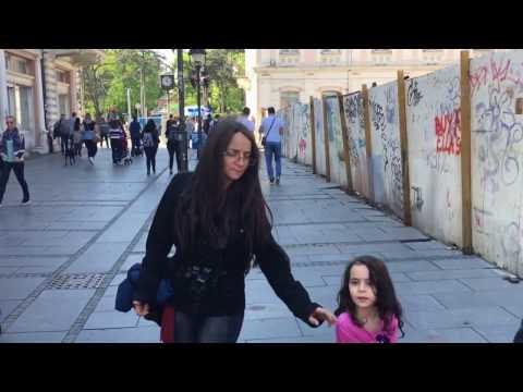 Walking in Belgrade