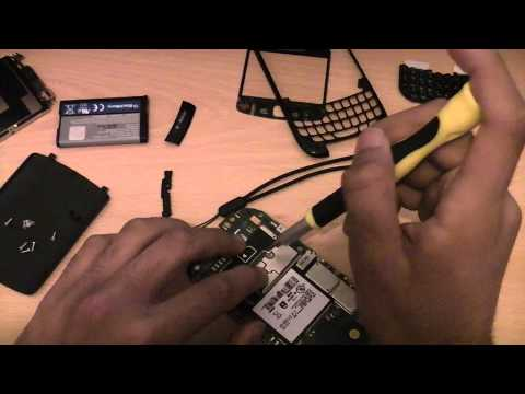 How To Disassemble And Assemble Blackberry Curve 8520
