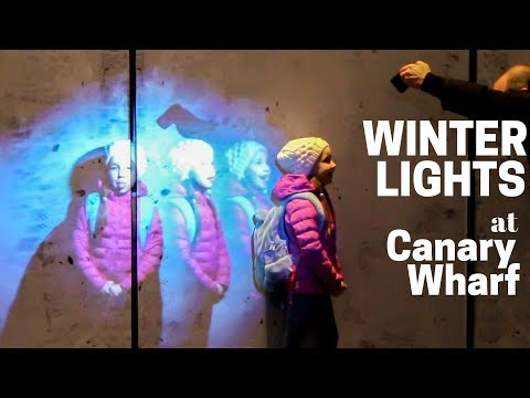 Winter Lights at Canary Wharf 2018 #WinterLights