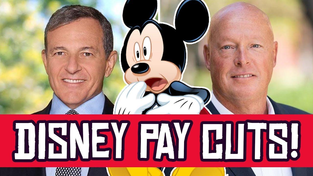 Disney CUTS Salaries for Bosses as Disney World, Disneyland ...