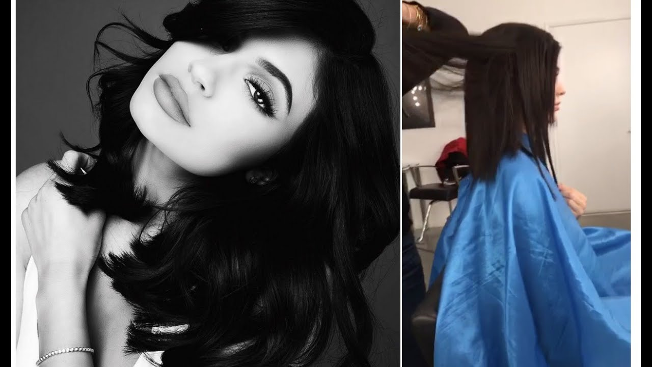 Kylie Jenner Haircut Tutorial Snapchat Videos Youtube