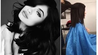 Kylie Jenner Haircut Tutorial  || Snapchat Videos