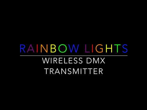 Rainbow Lights DMX Transmitter