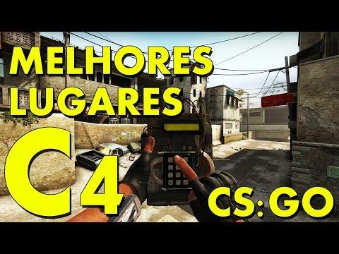 CS:GO MELHORES LUGARES C4
