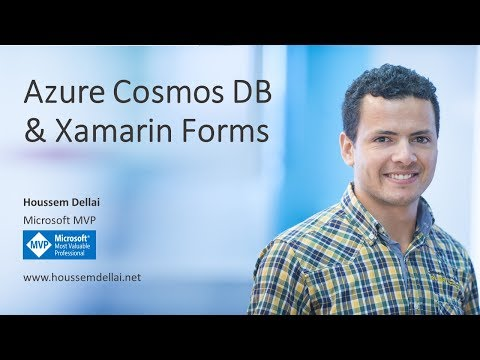 Webinar: Azure Cosmos DB with Xamarin Forms