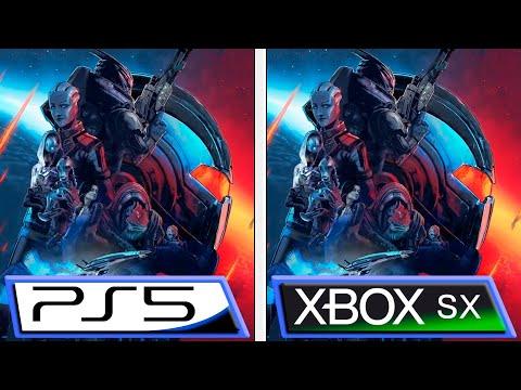 Mass Effect: Legendary Edition   PS5 vs Xbox Series X   Graphics Comparison & FPS