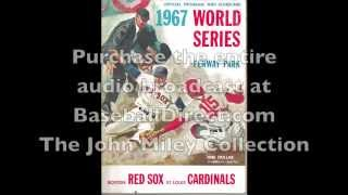 1967 World Series Radio Broadcast (Top of the First Inning)