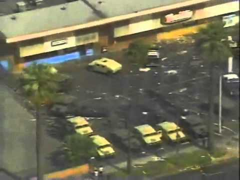 North America - US - Rodney King Riots - 19920430 - Los Angeles - National Guard arrives.