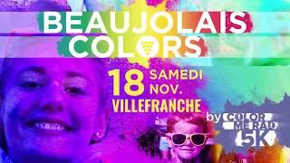 Beaujolais Colors by Color Me Rad 2017