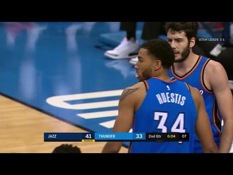 2nd Quarter, One Box Video: Oklahoma City Thunder vs. Utah Jazz