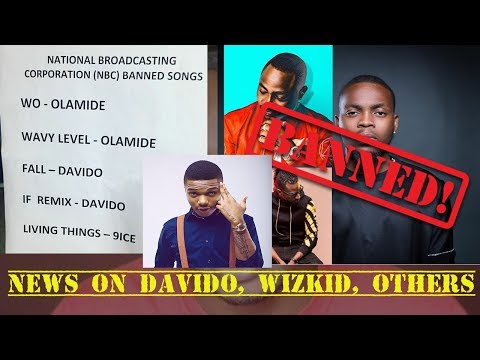 Wizkid Blasts Federal Govt As NBC Bans Olamide's Wo, Davido's Fall & IF Remix