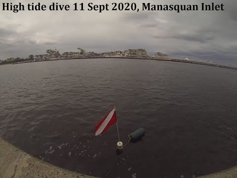 Manasquan Inlet Dive 9-11-2020