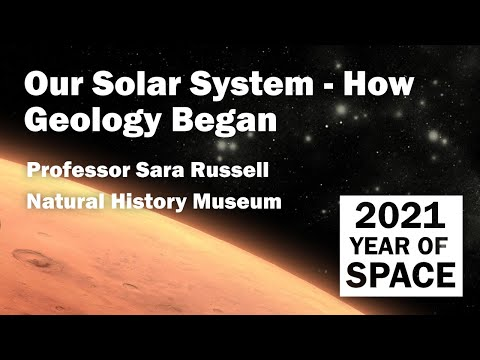Our Solar System - How Geology Began