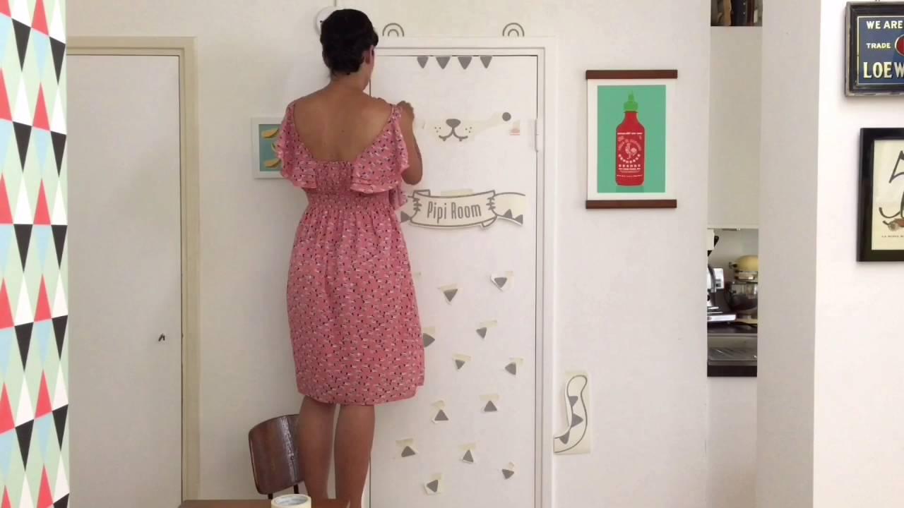 How to install your door decal! & How to install your door decal! - YouTube