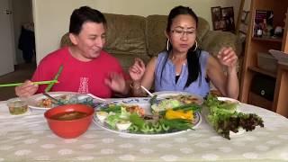 Mukbang Healthy Food With MG/Naly's Laos Kitchen.