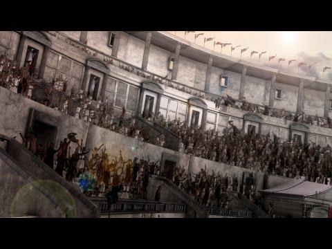 Roman Colosseum Naval battle 3D