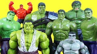 World's Biggest Just4fun290 Hulk Family Toy Collection