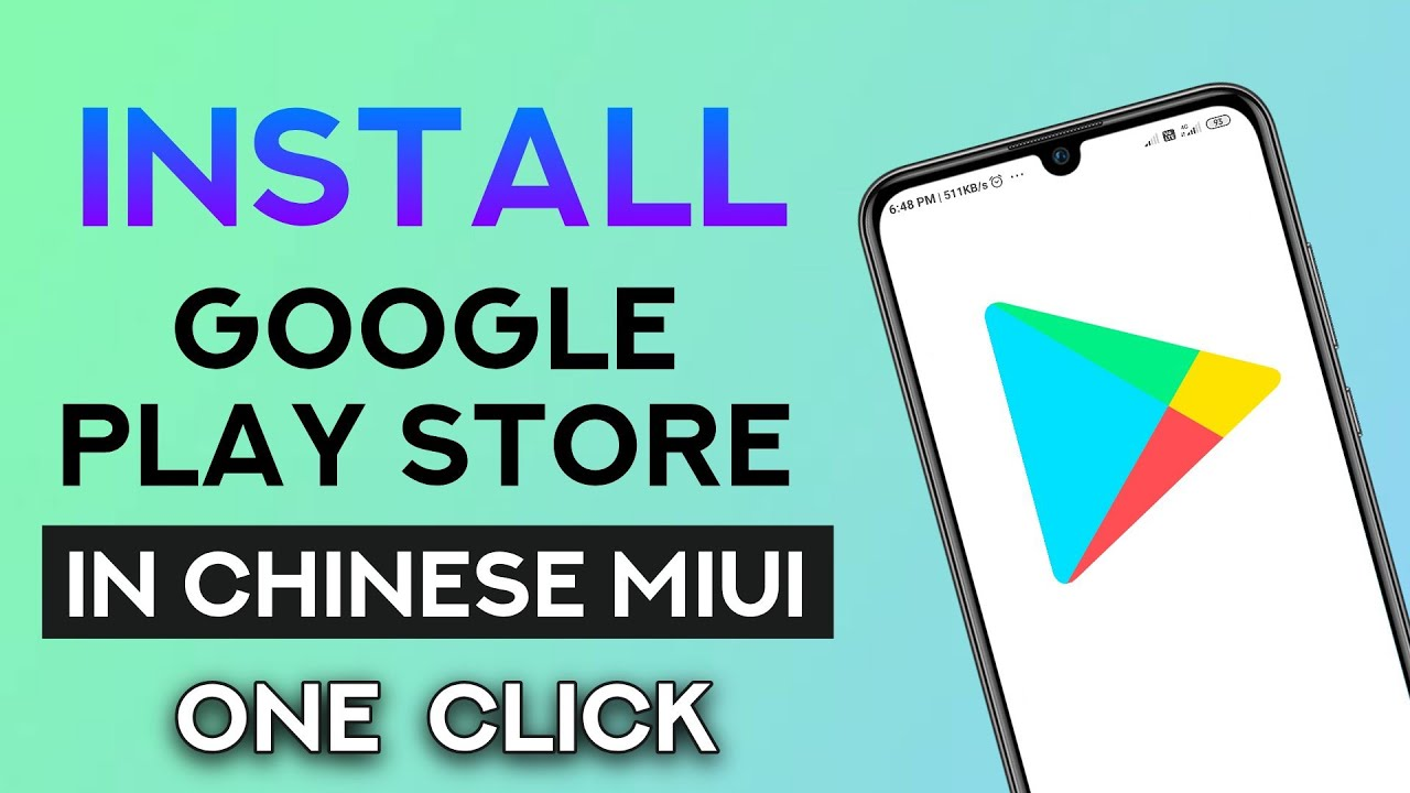 Install Google Play Store In Xiaomi Miui China Rom In Hindi Youtube