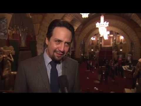Highlights of Lin-Manuel Miranda's Walk of Fame Star Ceremony