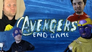 Avengers: Endgame. Low cost version   Studio 188