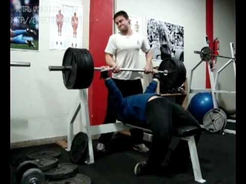 Raw Bench Press 180 Kg X 3 Rep With Repose 82kg Youtube