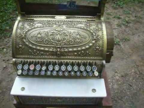 1913 BRASS NATIONAL CASH REGISTER 349 Bar/Tavern Model, sold!!