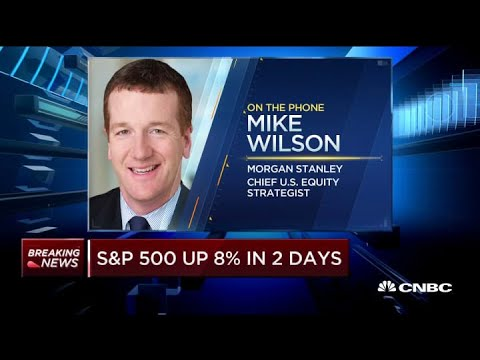 Stocks Appear At The End Of A Bear Market: Morgan Stanley Strategist