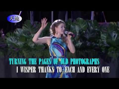 陪我看日出-海莉,英文版Drown In My Own Tears. 纽西兰歌手演唱。