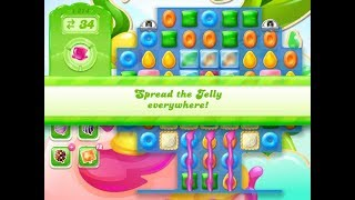 Candy Crush Jelly Saga Level 1274 (3 stars, No boosters)