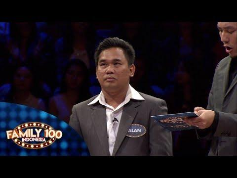 Berapakah pon yang berhasil dikumpulkan oleh Pak Alan? - Family 100 Indonesia