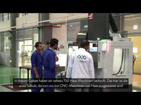 (DE)Haas eröffnet erste zertifizierte Ausbildungseinrichtung in Marokko