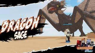 DRAGON SAGE + DRAGON SUMMON | Shinobi Story Sarutobi Clan in Roblox | iBeMaine