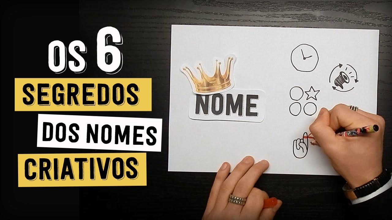 75cf340ad OS 6 SEGREDOS DOS NOMES DE LOJAS E EMPRESAS CRIATIVAS - YouTube