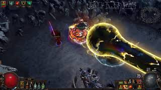 [3.2BSC] Scion Starforge cyclone crit version test on Uber Elder