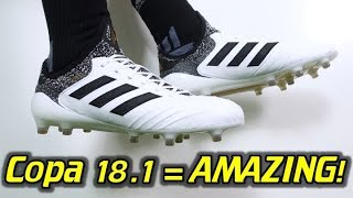 BETTER THAN THE LEGEND 7? - Adidas Copa 18.1 (Skystalker Pack) - Review + On Feet