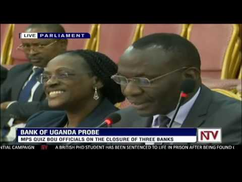 Image result for bank of uganda probe