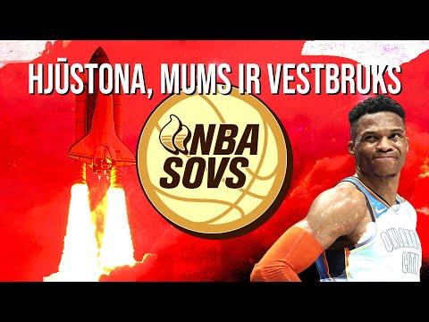"🏀RAĶETE VESTBRUKS   14.07.19.   ""Sauna"" NBA Šovs"