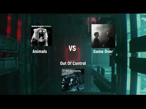Animals Vs Game Over Vs Out Of Control [Martin Garrix Mashup] (Krisna Remake) HQ