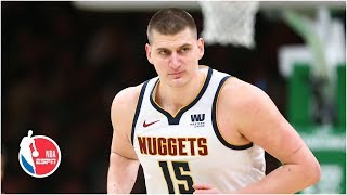 Nikola Jokic, Nuggets clinch playoffs in win over Kyrie Irving, Celtics   NBA Highlights