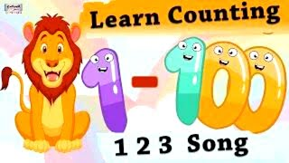 Learn Counting 1 100 Easy Counting Song In English For Kids Learn 123 Numbers Catrack Kids TV