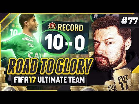 PERFECT 10-0 FUT CHAMPS RECORD!!- #FIFA17 Road to Glory! #77