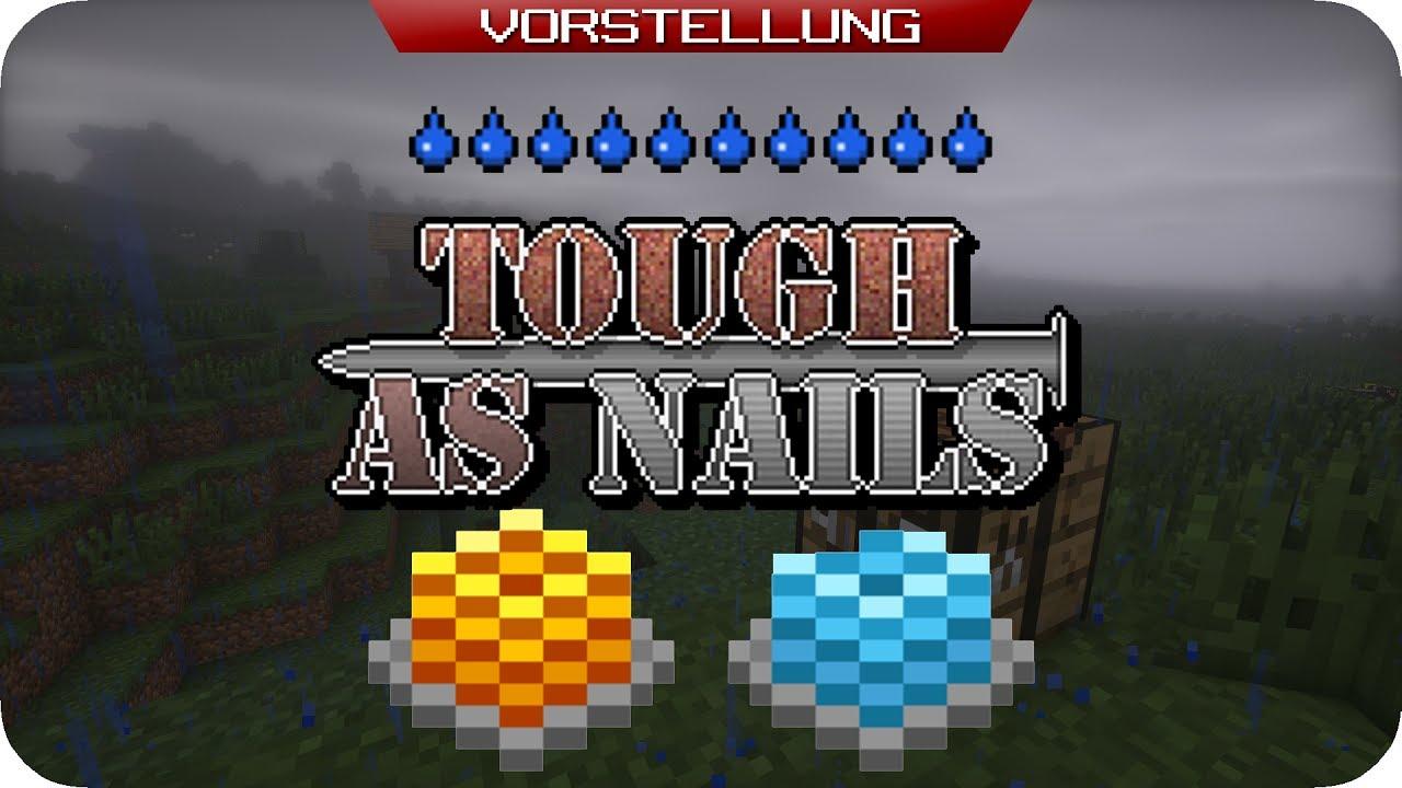 Minecraft TOUGH AS NAILS MOD [DE]