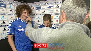 Jose Mourinho 'accuses' David Luiz of getting suspended on purpose so he can go on holiday