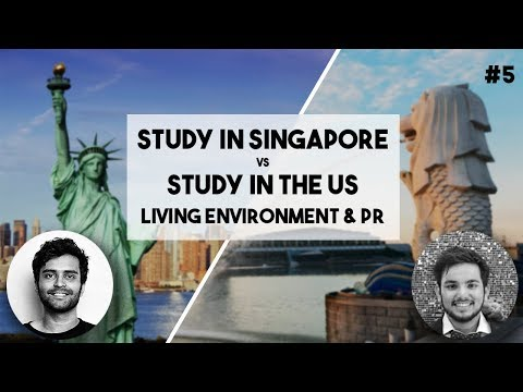 LIVING ENVIRONMENT & PR   Singapore VS US