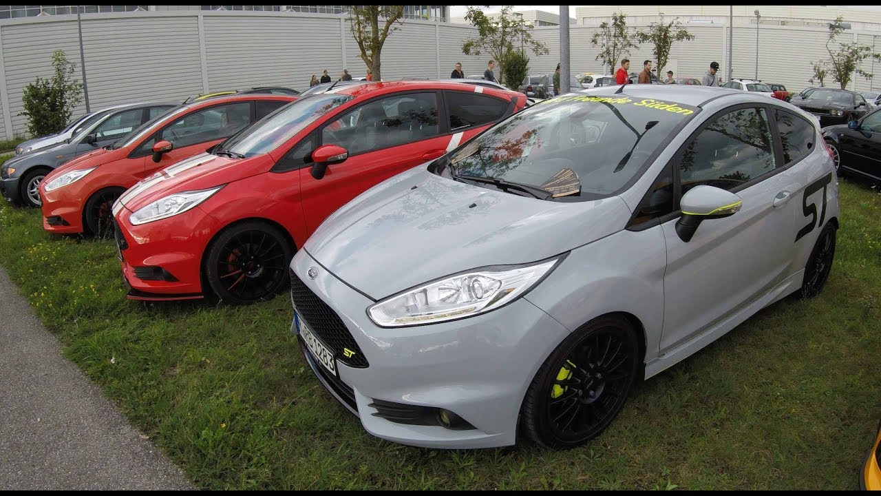 Ford Fiesta St Compilation Tuning Show Cars Walkaround Youtube