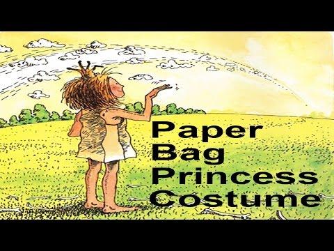 DIY Paper Bag Princess Costume