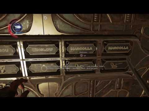 Dishonored 2 - Jindosh Lock Solution