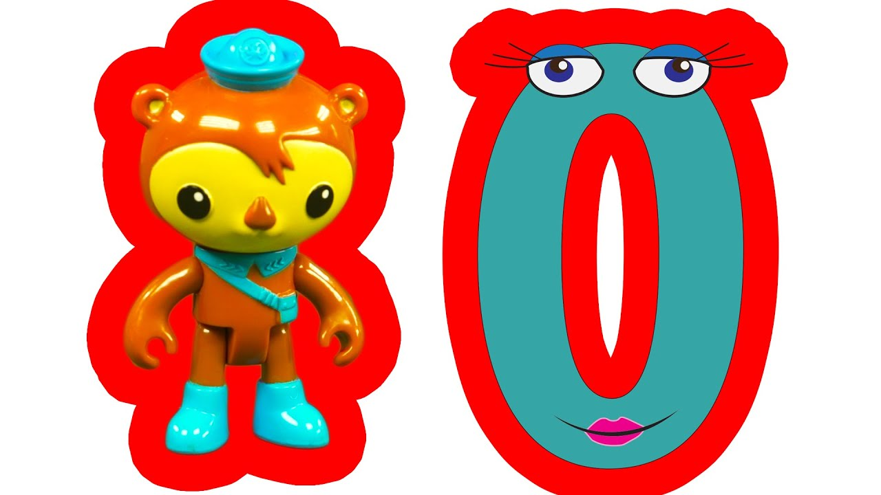 The Octonauts Learning Adventure With The Letter O