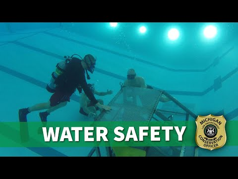 Michigan Conservation Officer: Water Safety Training