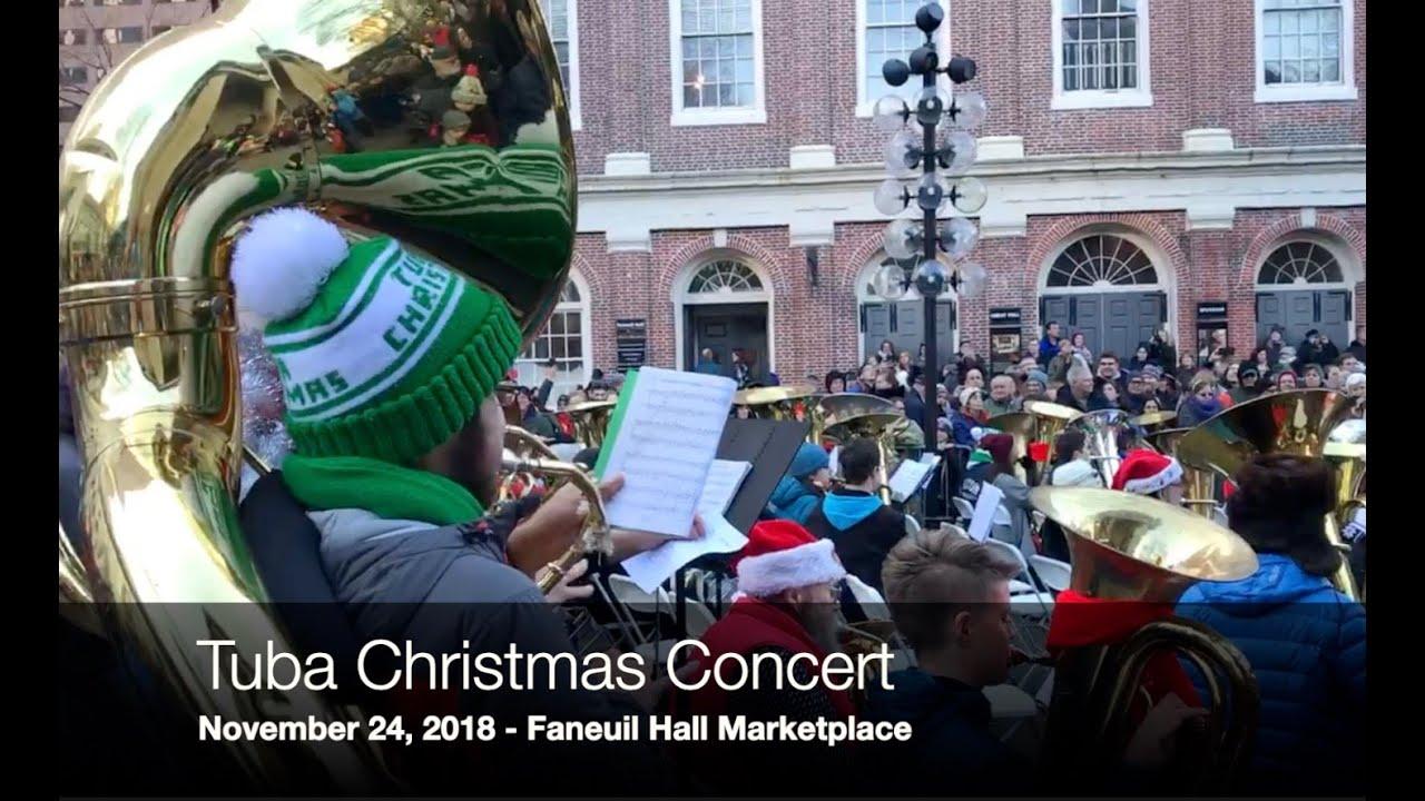 Merry Tuba Christmas 2020 Boston Boston Tuba Christmas Concert 2018 [Video]   NorthEndWaterfront.com